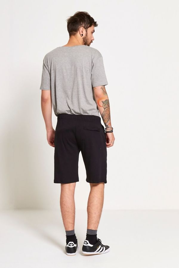 Black With Red Nike Signature Sweat Shorts
