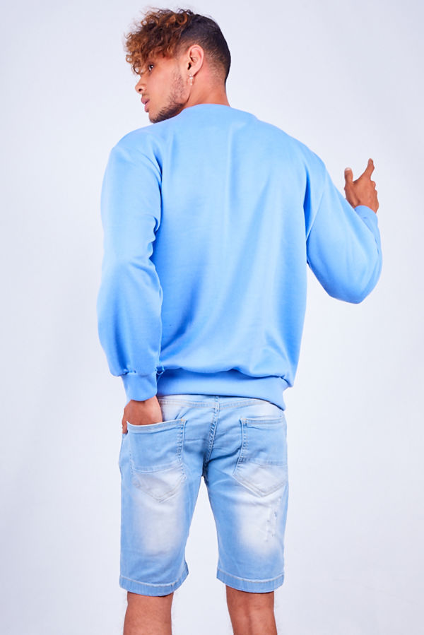 Blue Be Kind Sweatshirt