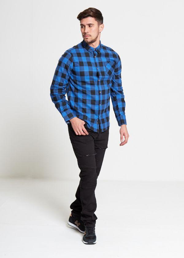 Blue Jack Checked Shirt