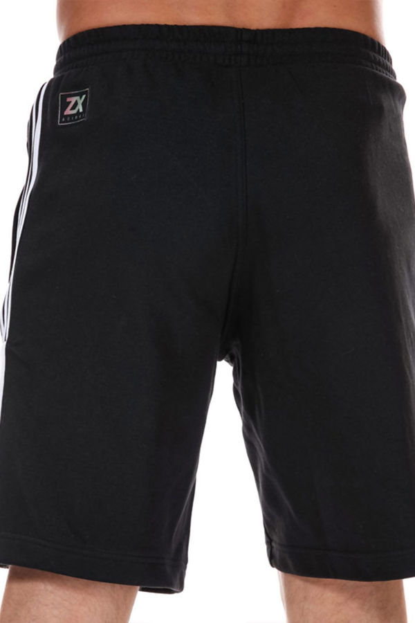 Black Adidas Originals Nutasca ZX Fleece Shorts
