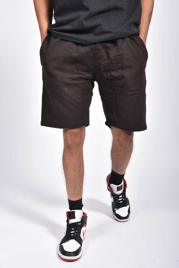 Black Basic Jogger Shorts