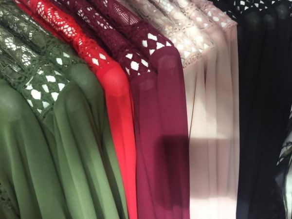 White Bishop Sleeve Tie Dress