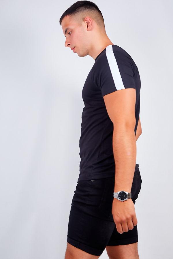 Black Chino Basic Shorts