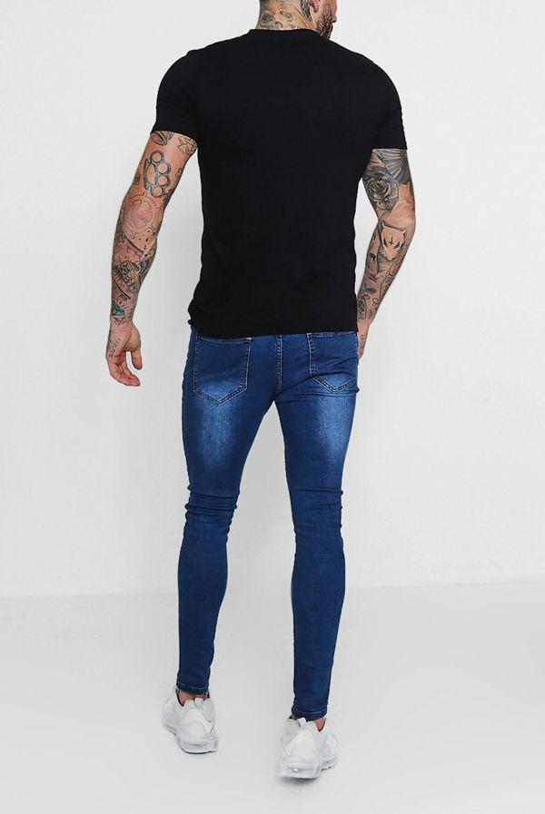 Black Classic V-Neck T-Shirt