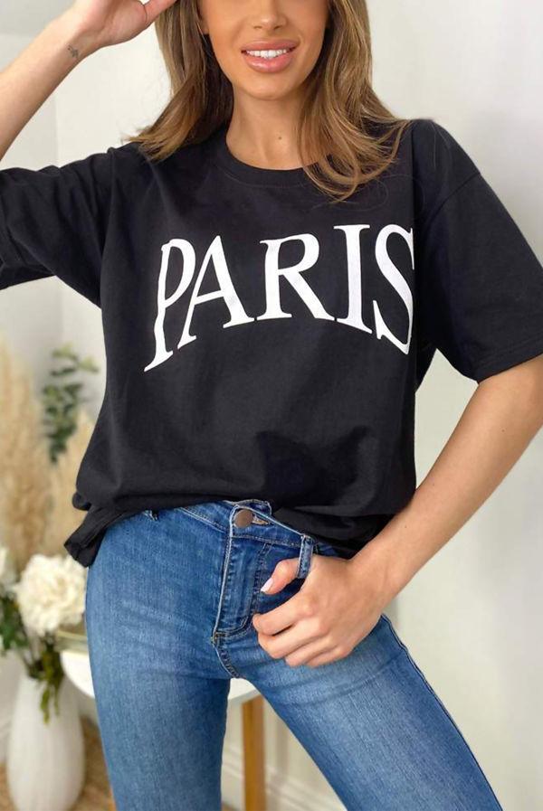 PARIS Oversized Tee