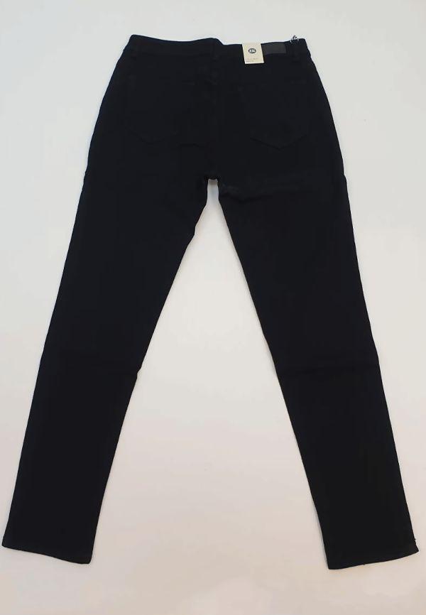 Black Stretch Five Pocket Jeans Size 14