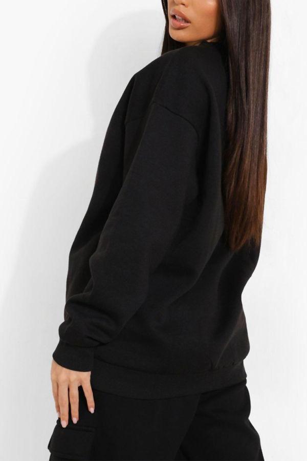Black Tik Tok Sweatshirt