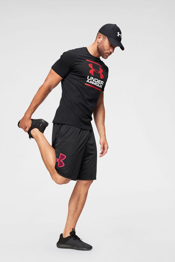 Black Under Armour GL Foundation Short Sleeve T-Shirt