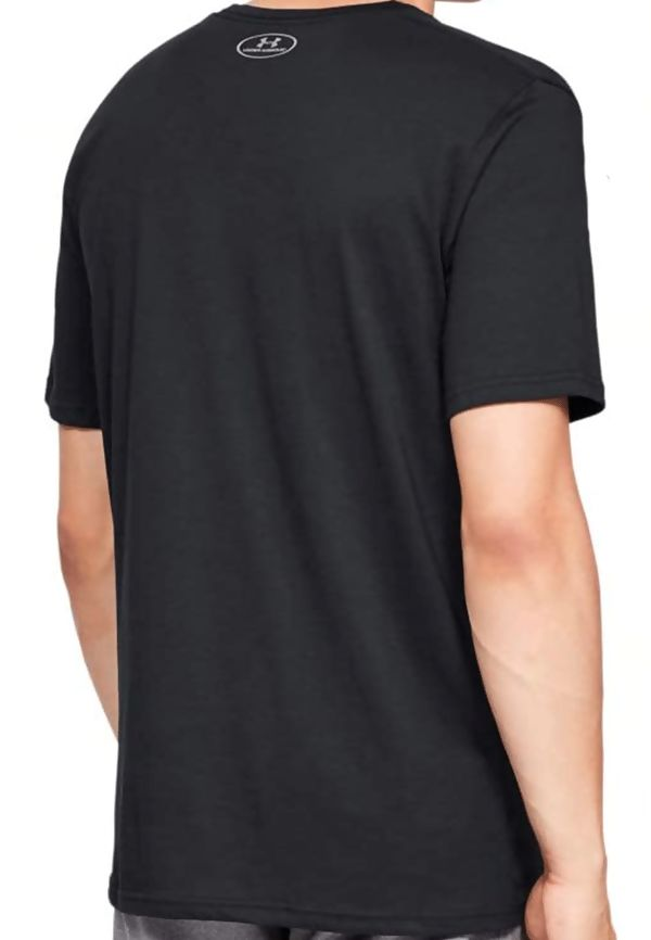 Black Under Armour Graphic Logo Tee