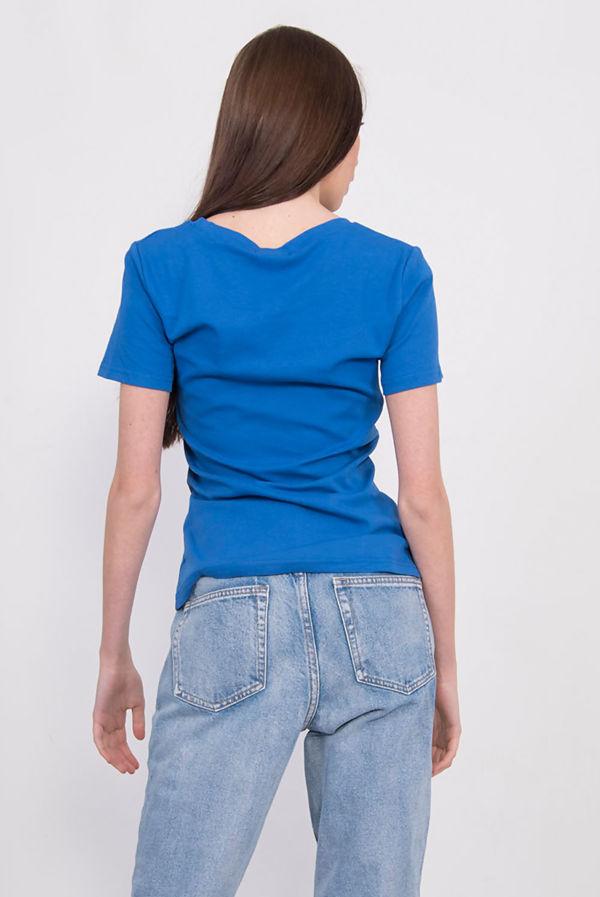 Blue Rainbow Striped T-Shirt