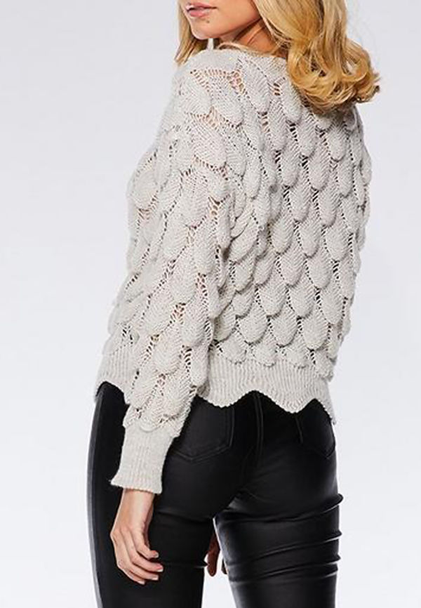 Bubble Knitted Jumper