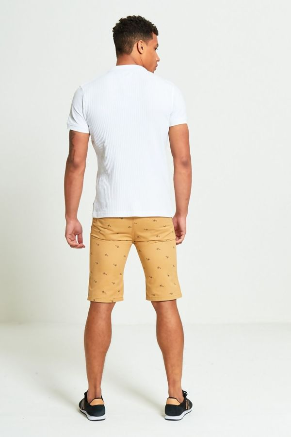 Camel Penny Farthing Chino Shorts