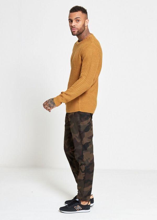 Camo Cuff Twill Pants