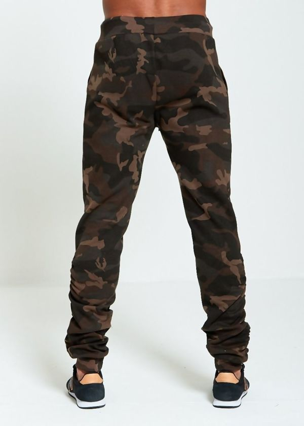Camo Ruched Jogger