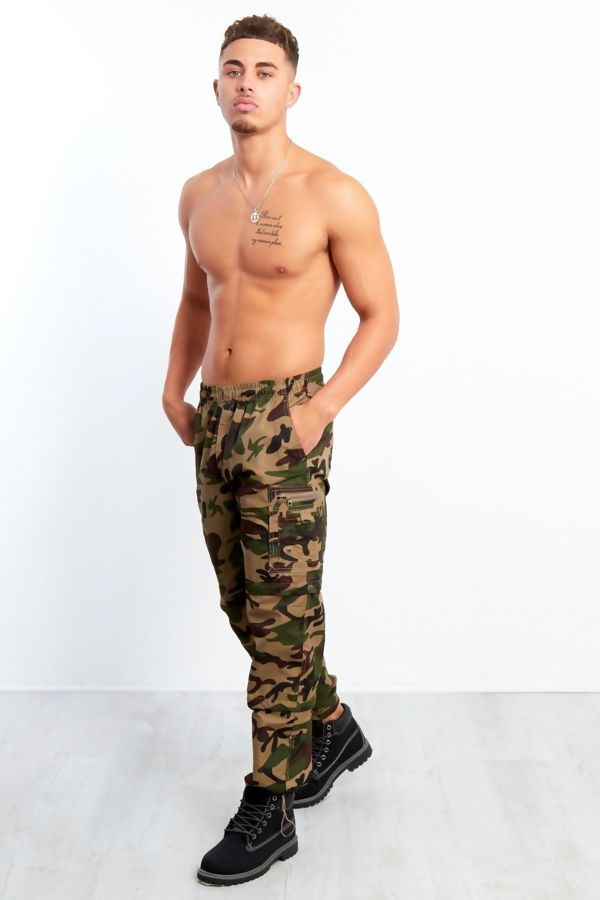 Camouflage 3 In 1 Zip Off Trouser