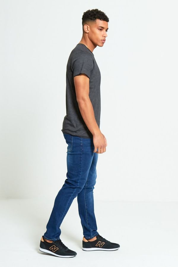 Charcoal Basic Loose Fit T-Shirt