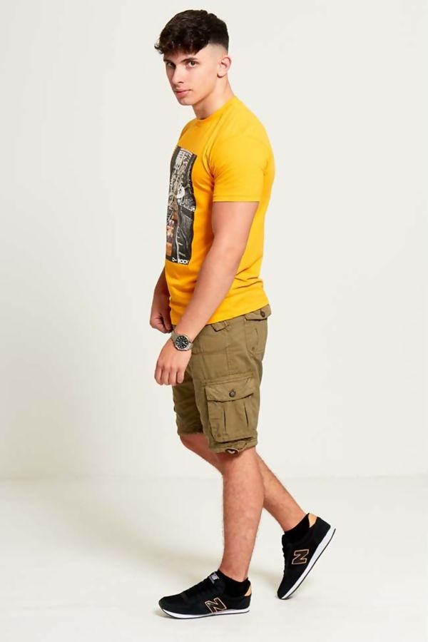 Charcoal George Cargo Shorts