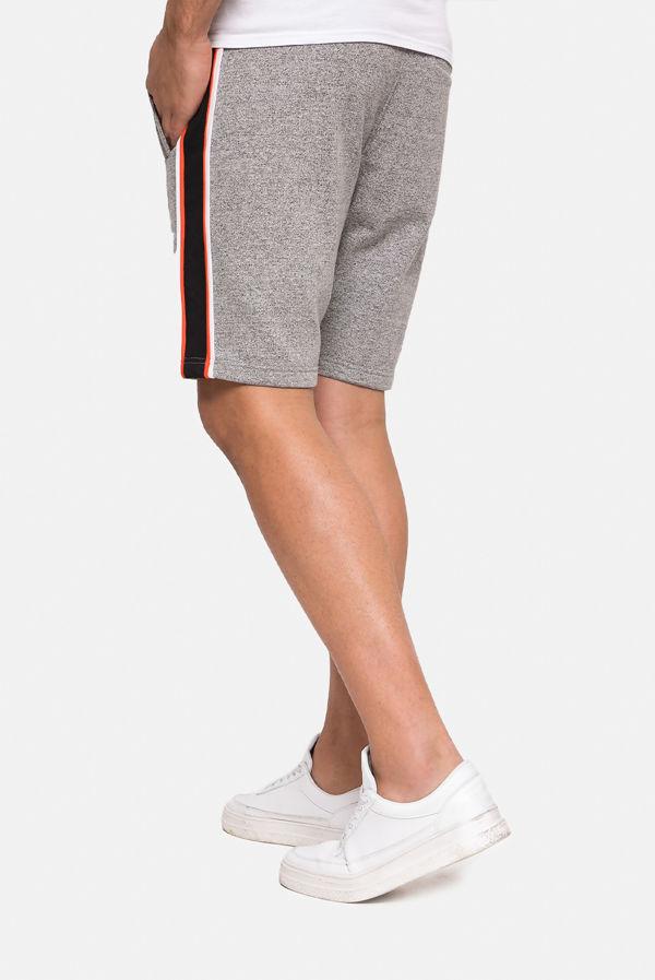 Charcoal Hudson Fleece Shorts