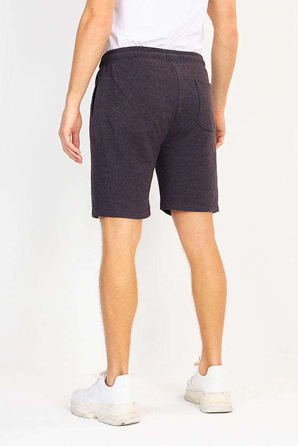 Charcoal Jersey Sweat Shorts