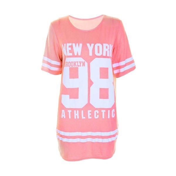 Charcoal New York 98 Oversize T-Shirt