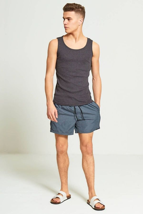Charcoal Swim Shorts