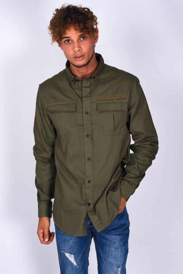 Chest Pocket Button Up Shirt