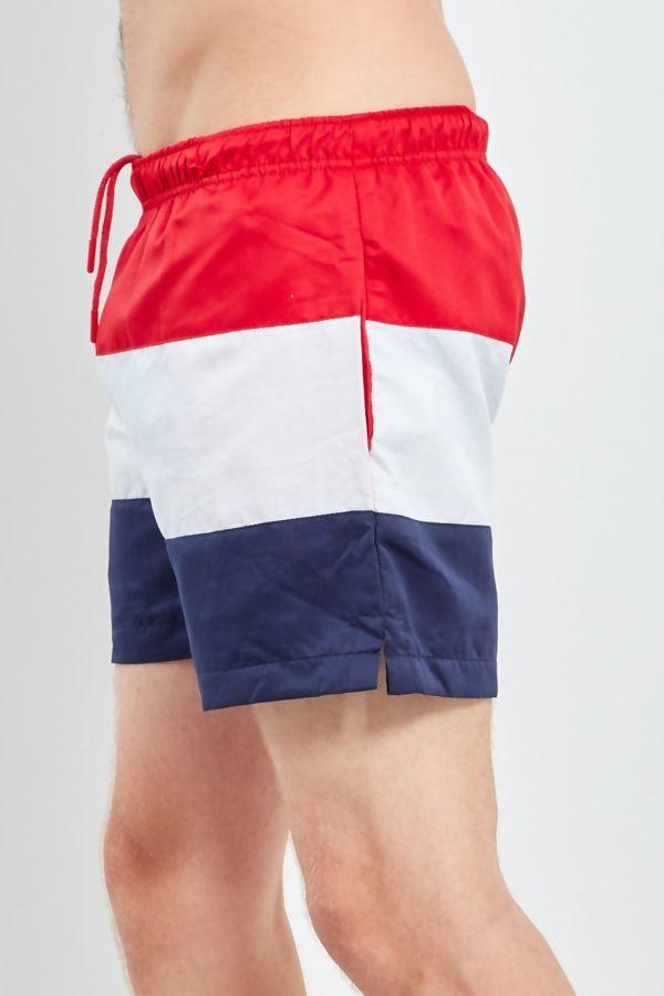 Colourblock Panel Swim Shorts