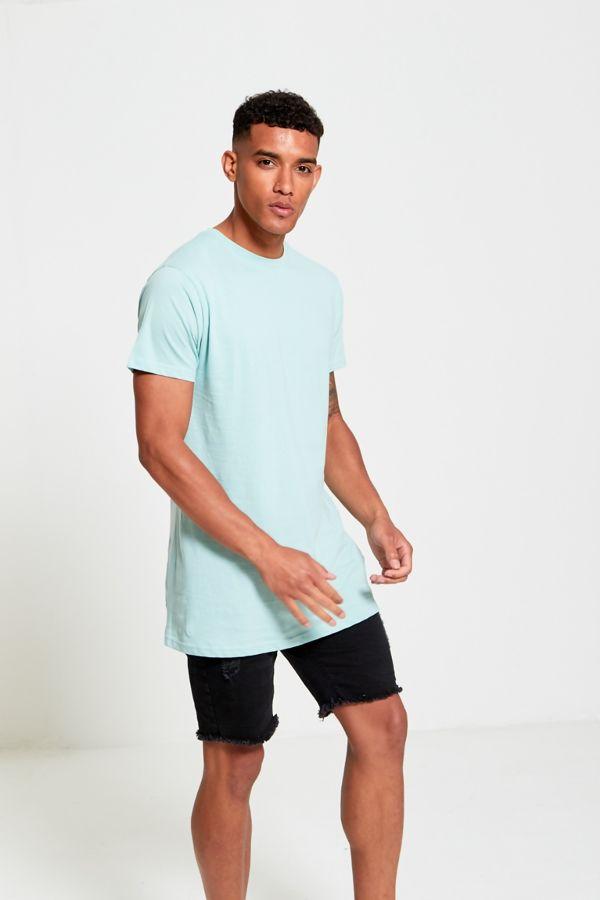 Longline Basic Block Mint T-Shirt