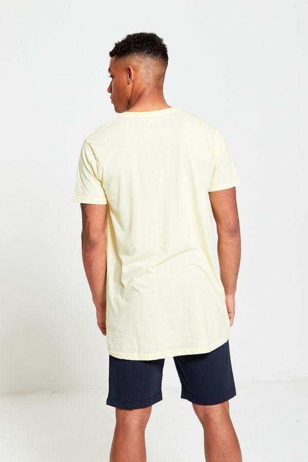 Longline Basic Block T-Shirt