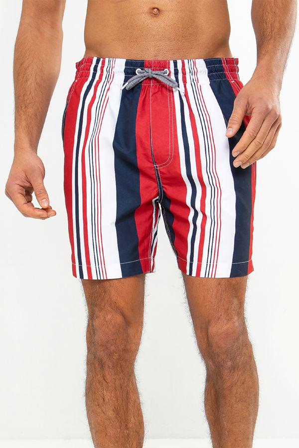 Crete Striped Swim Short