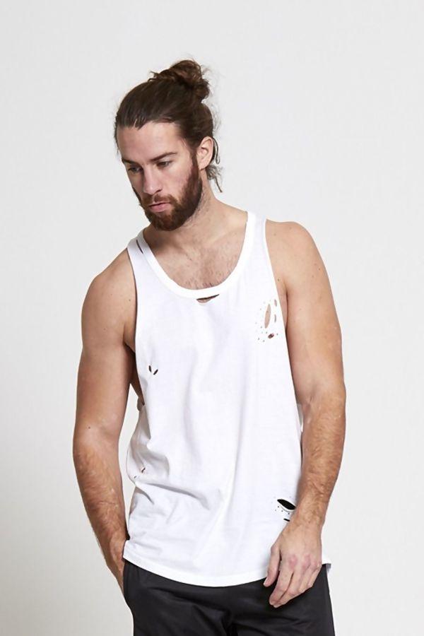 Distressed Longline Vest