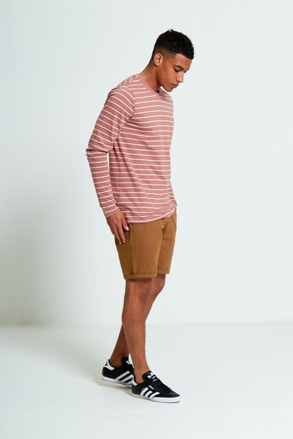 Dusty Crew Breton Stripes Long Sleeve T-shirt