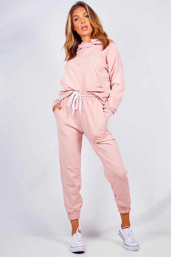 Dusty Crop Hood Lounge-wear Set