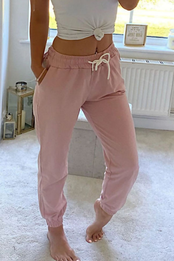 Dusty High Waist Loopback Jogger
