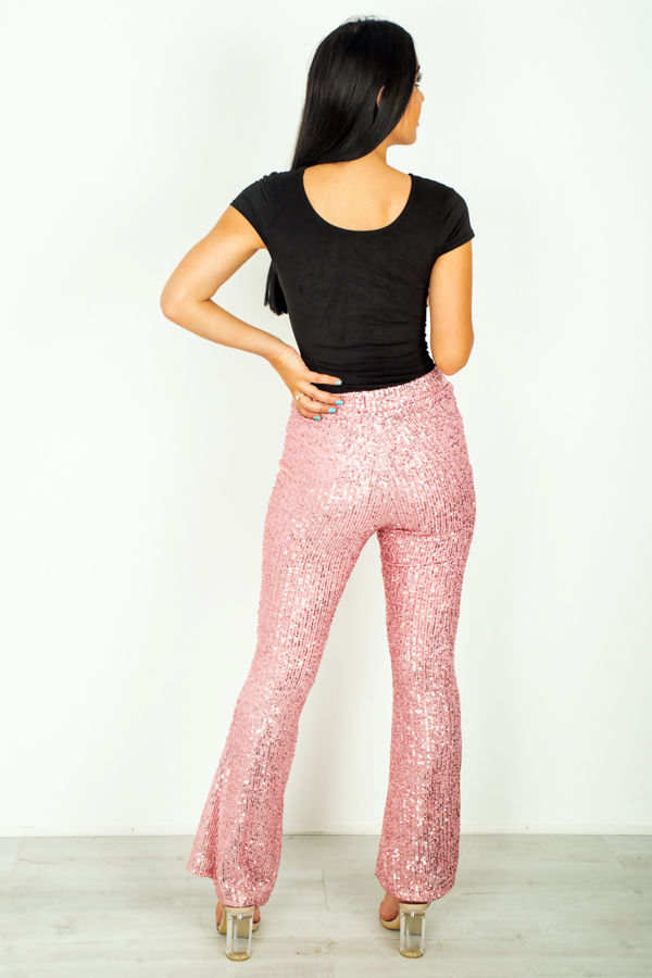Dusty Sequinned Trouser