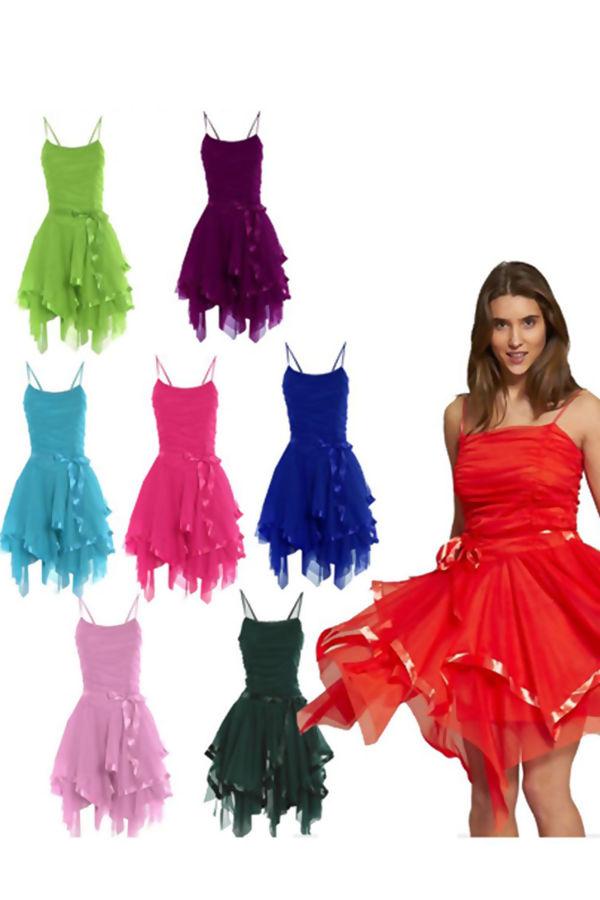 Black Evening Prom Midi Dress