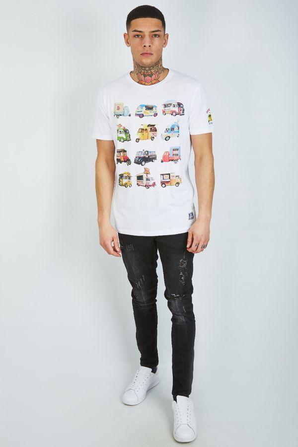 Food Feast Printed T-Shirt