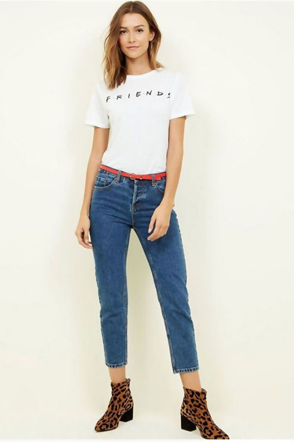 Friends Slogan Print Top