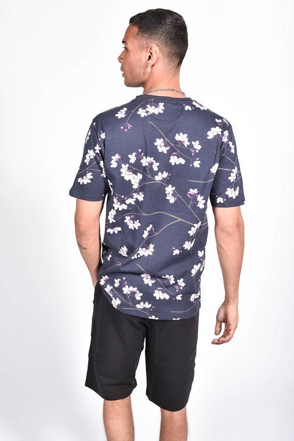 Floral Printed Pocket T-Shirt