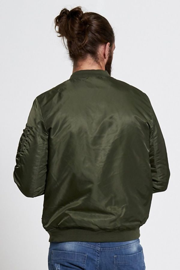 Green Hollywood Bomber Jacket