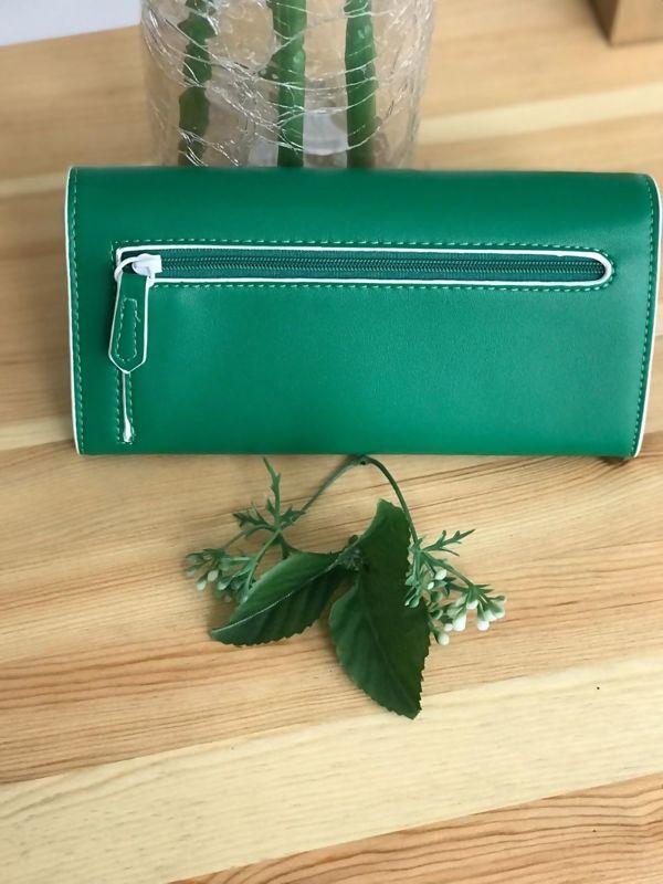 Green Studded Purse