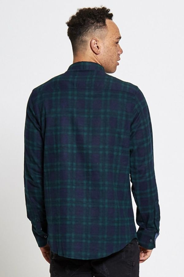 Green Timeless Checked Shirt