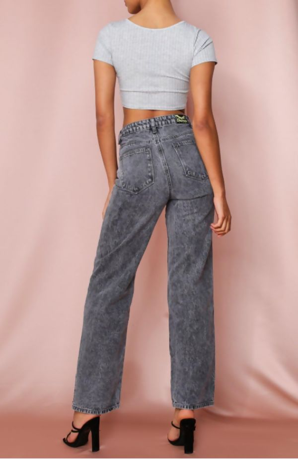 High Waisted Mom Jeans Size 6