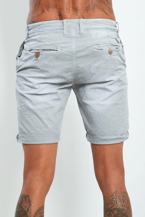 Grey Fade Wash Shorts