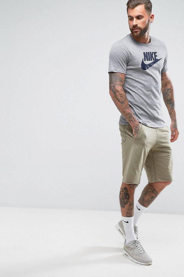 Grey Nike Futura Icon T-Shirt