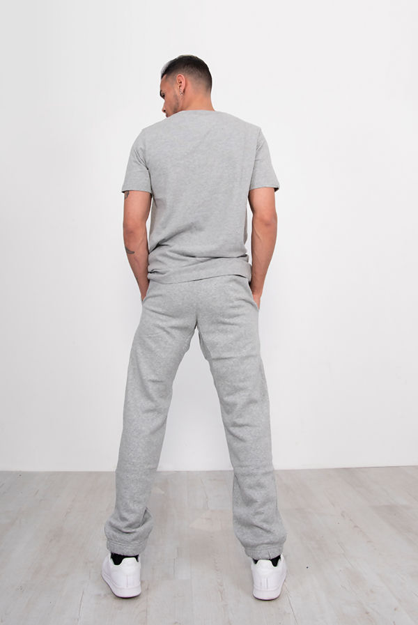 Grey Nike T-Shirt With Contrast Embroidered Swoosh