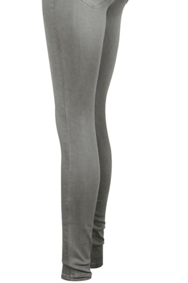 Grey Stretch Slim Fit Skinny Jegging