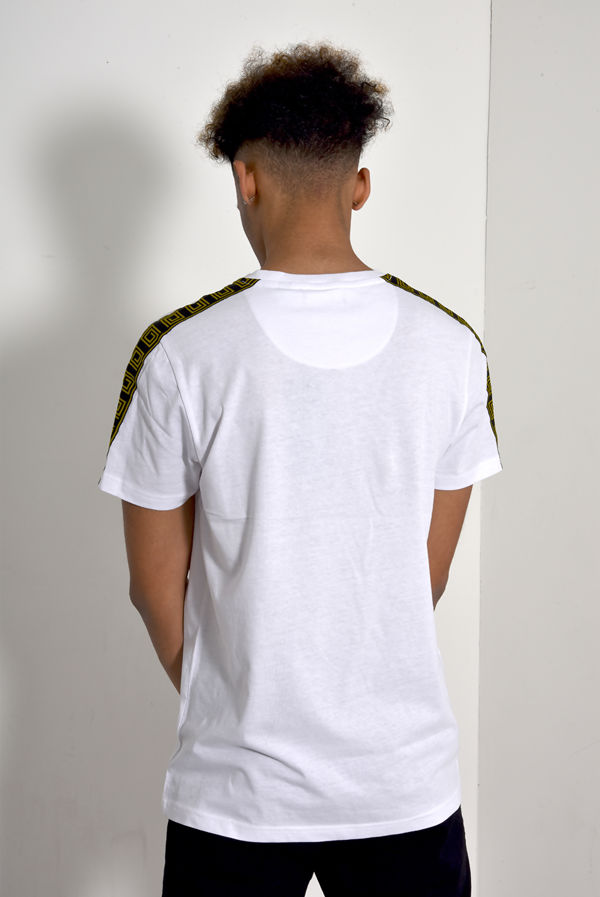 Greek Diamond Striped T-Shirt