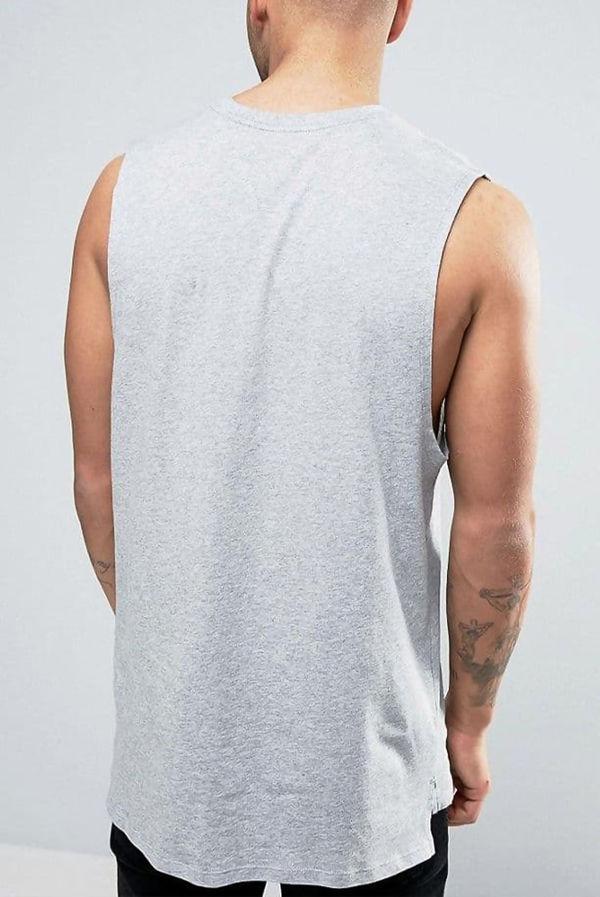 Grey Nike Retro Logo Vest