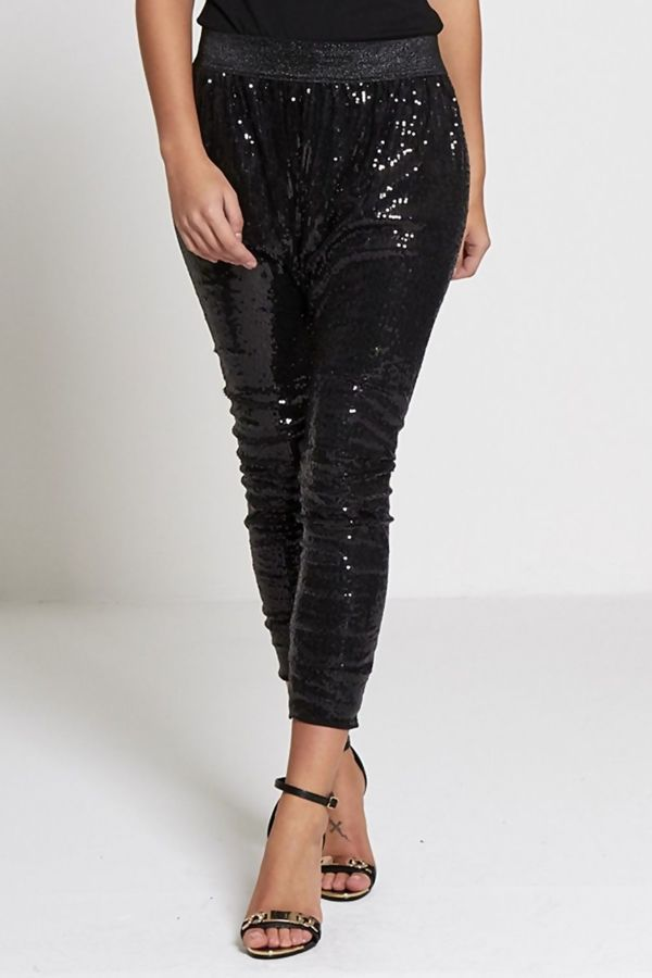 Harlem Style Sequinned Trousers